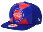 Detroit Pistons New Era NBA HWC Cut & Paste 9FIFTY Snapback Cap Adjustable Hats