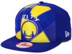 Golden State Warriors New Era NBA HWC Cut & Paste 9FIFTY Snapback Cap Adjustable Hats