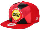 Houston Rockets New Era NBA HWC Cut & Paste 9FIFTY Snapback Cap Adjustable Hats