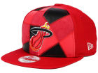 Miami Heat New Era NBA HWC Cut & Paste 9FIFTY Snapback Cap Adjustable Hats