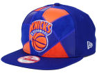 New York Knicks New Era NBA HWC Cut & Paste 9FIFTY Snapback Cap Adjustable Hats