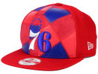 Philadelphia 76ers New Era NBA HWC Cut & Paste 9FIFTY Snapback Cap Adjustable Hats