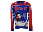 New York Rangers Hendrik Lundqvist Forever Collectibles NHL Men's Player Ugly Sweater Sweatshirts