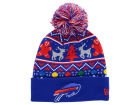 Buffalo Bills New Era NFL Ugly Sweater Pom Knit Hats