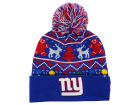 New York Giants New Era NFL Ugly Sweater Pom Knit Hats