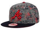 Atlanta Braves New Era MLB DC Team Reflective 9FIFTY Snapback Cap Adjustable Hats