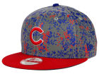 Chicago Cubs New Era MLB DC Team Reflective 9FIFTY Snapback Cap Adjustable Hats