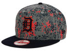 Detroit Tigers New Era MLB DC Team Reflective 9FIFTY Snapback Cap Adjustable Hats