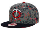 Minnesota Twins New Era MLB DC Team Reflective 9FIFTY Snapback Cap Adjustable Hats