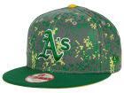 Oakland Athletics New Era MLB DC Team Reflective 9FIFTY Snapback Cap Adjustable Hats