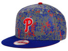 Philadelphia Phillies New Era MLB DC Team Reflective 9FIFTY Snapback Cap Adjustable Hats