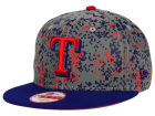 Texas Rangers New Era MLB DC Team Reflective 9FIFTY Snapback Cap Adjustable Hats
