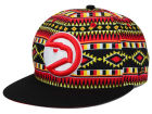 Atlanta Hawks New Era NBA HWC Tri-All Print 9FIFTY Snapback Cap Adjustable Hats