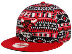 Chicago Bulls New Era NBA HWC Tri-All Print 9FIFTY Snapback Cap Adjustable Hats