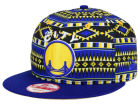 Golden State Warriors New Era NBA HWC Tri-All Print 9FIFTY Snapback Cap Adjustable Hats
