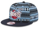 Houston Rockets New Era NBA HWC Tri-All Print 9FIFTY Snapback Cap Adjustable Hats