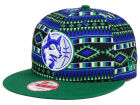 Minnesota Timberwolves New Era NBA HWC Tri-All Print 9FIFTY Snapback Cap Adjustable Hats