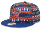 New York Knicks New Era NBA HWC Tri-All Print 9FIFTY Snapback Cap Adjustable Hats