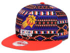Phoenix Suns New Era NBA HWC Tri-All Print 9FIFTY Snapback Cap Adjustable Hats