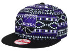 Sacramento Kings New Era NBA HWC Tri-All Print 9FIFTY Snapback Cap Adjustable Hats