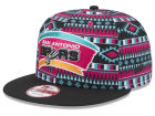 San Antonio Spurs New Era NBA HWC Tri-All Print 9FIFTY Snapback Cap Adjustable Hats