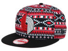 Portland Trail Blazers New Era NBA HWC Tri-All Print 9FIFTY Snapback Cap Adjustable Hats