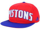 Detroit Pistons adidas NBA 2015-2016 Courtside Cap Adjustable Hats