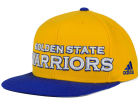 Golden State Warriors adidas NBA 2015-2016 Courtside Cap Adjustable Hats
