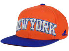 New York Knicks adidas NBA 2015-2016 Courtside Cap Adjustable Hats