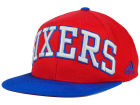 Philadelphia 76ers adidas NBA 2015-2016 Courtside Cap Adjustable Hats