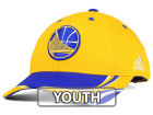 Golden State Warriors adidas NBA Youth Above the Rim Adjustable Cap Stretch Fitted Hats
