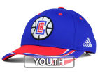 Los Angeles Clippers adidas NBA Youth Above the Rim Adjustable Cap Stretch Fitted Hats