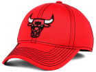 Chicago Bulls adidas NBA Reflective Flex Cap Stretch Fitted Hats