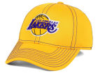 Los Angeles Lakers adidas NBA Reflective Flex Cap Stretch Fitted Hats