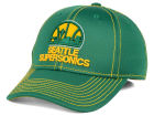 Seattle SuperSonics adidas NBA Reflective Flex Cap Stretch Fitted Hats