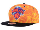 New York Knicks Mitchell and Ness NBA Color Surf Camo Snapback Cap Adjustable Hats