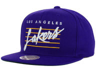 Mitchell and Ness NBA Cursive Retro Snapback Cap Adjustable Hats