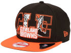 Cleveland Browns New Era NFL Big City 9FIFTY Snapback Cap Adjustable Hats