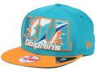 Miami Dolphins New Era NFL Big City 9FIFTY Snapback Cap Adjustable Hats
