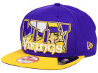 Minnesota Vikings New Era NFL Big City 9FIFTY Snapback Cap Adjustable Hats
