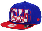 New York Giants New Era NFL Big City 9FIFTY Snapback Cap Adjustable Hats