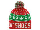 DC Shoes Christmas Puff Knit Hats