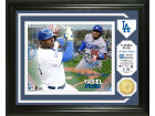 Los Angeles Dodgers Yasiel Puig Highland Mint Single Coin Player Photo Mint Bronze Collectibles