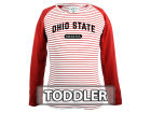 Ohio State Buckeyes NCAA Toddler Girls Joelle Long Sleeve T-Shirt Infant Apparel