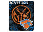 New York Knicks The Northwest Company Raschel 50x60 Shadow Throw Bed & Bath