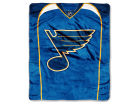 St. Louis Blues The Northwest Company Raschel 50x60 Stamp Throw Bed & Bath