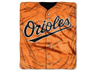 Baltimore Orioles The Northwest Company Raschel 50x60 Strike Throw Bed & Bath