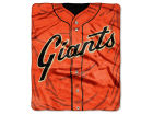 San Francisco Giants The Northwest Company Raschel 50x60 Strike Throw Bed & Bath