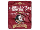 Florida State Seminoles The Northwest Company Raschel 50x60 Rebel Throw Bed & Bath