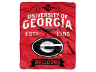 Georgia Bulldogs The Northwest Company Raschel 50x60 Rebel Throw Bed & Bath